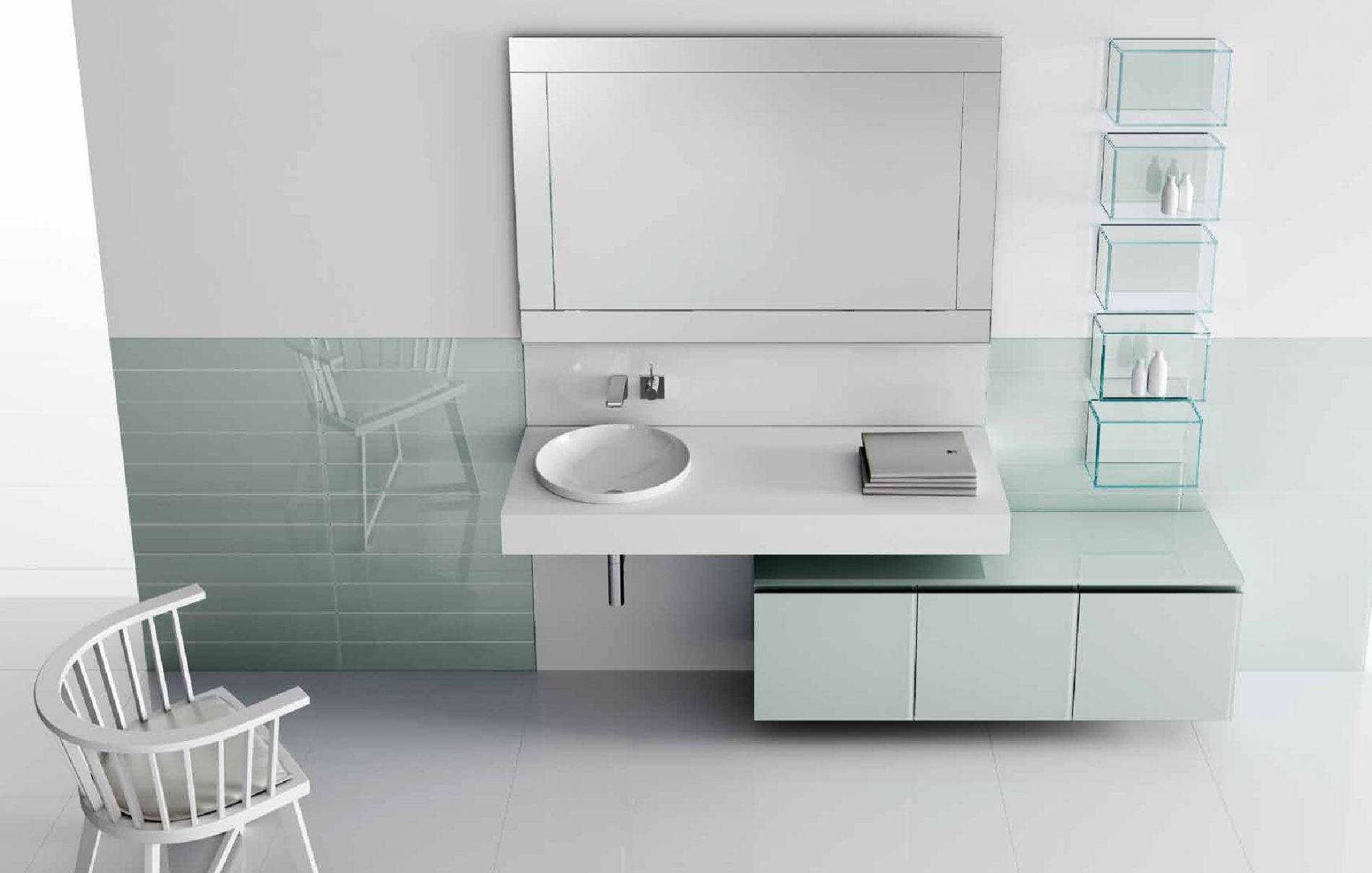 תמונה להמחשה ארון אמבטיה מעוצב דגם ליאם