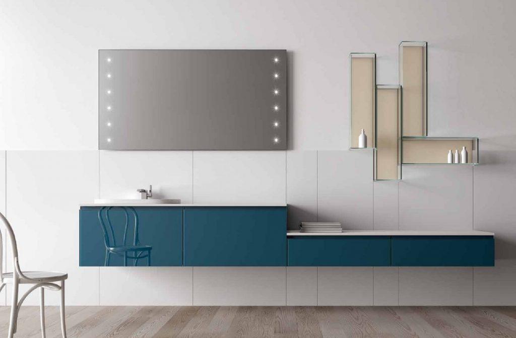 ארון אמבטיה מכוצב דגם דרים בהתאמה אישית של הלקוח