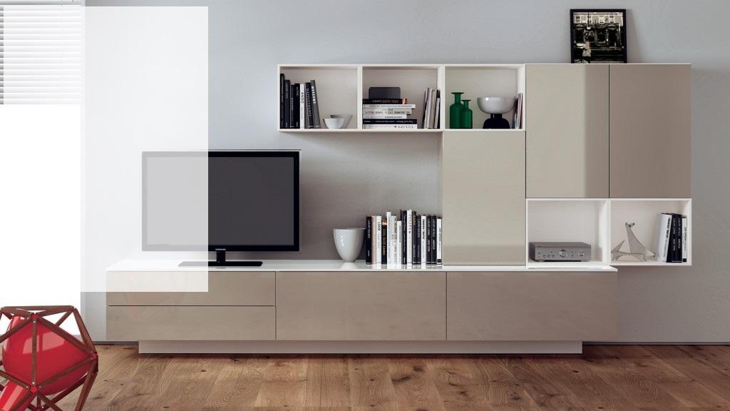 for Moderne wohnzimmer schrankwand