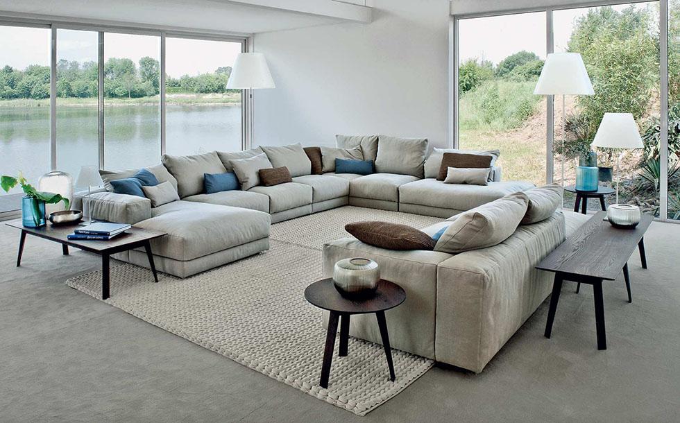 ארנה מעצבים רהיטים, תמונה של סלון פינתי ארנה