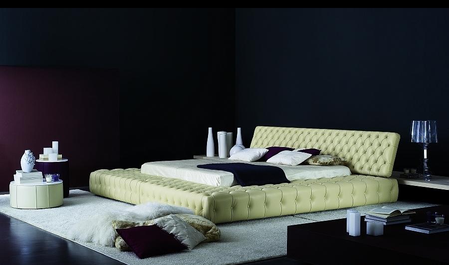 חדרי שינה מעוצבים   מיטה מעוצבת דגם סנדי