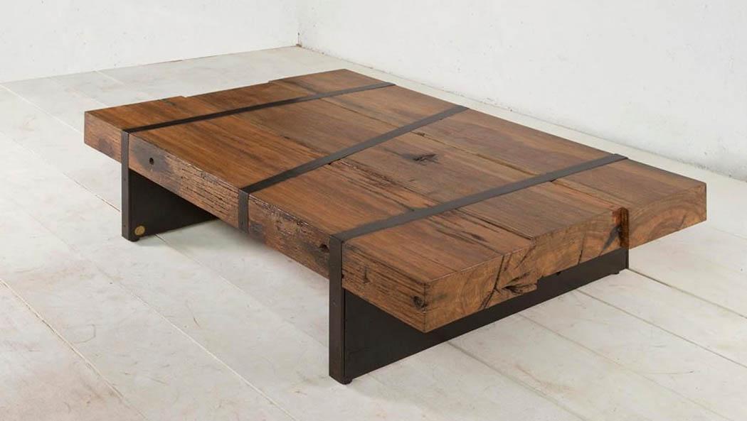 שולחן לסלון אירון