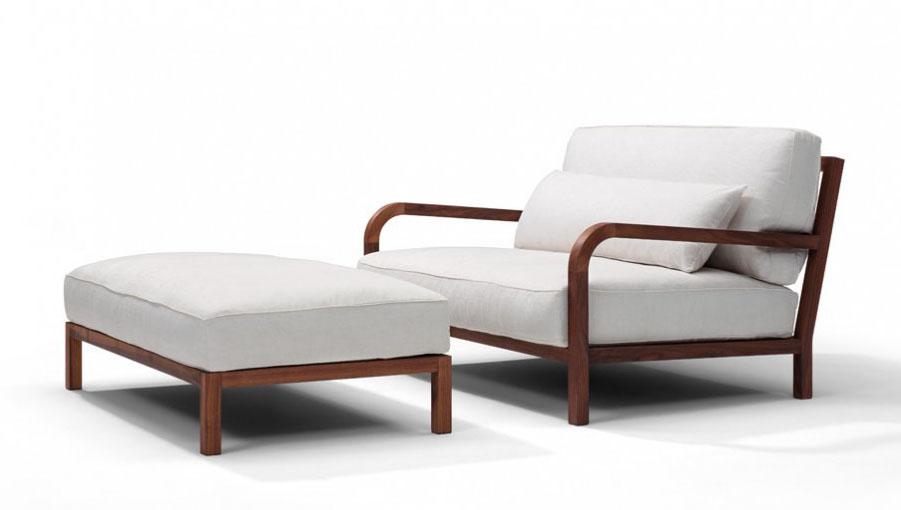 כורסא מעוצבת דגם בריסטו מדהימה בצבע לבן