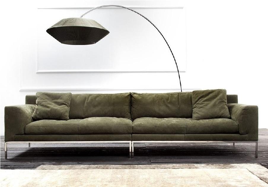 ספה מעוצבת בעור דגם מילאן