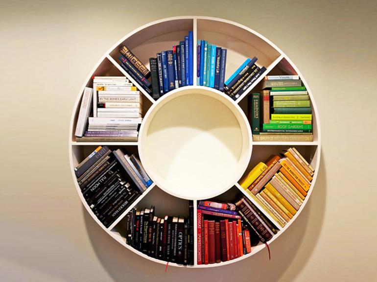 ספריות מעוצבות דגם קסטינה