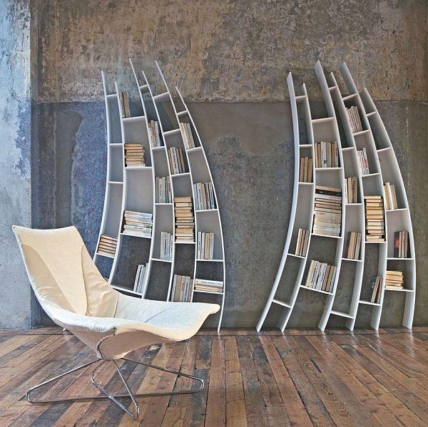 ספריות מעוצבות דגם הוגו