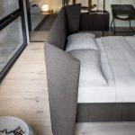 חדרי שינה מעוצבים   מיטה מעוצבת דגם דינמיק