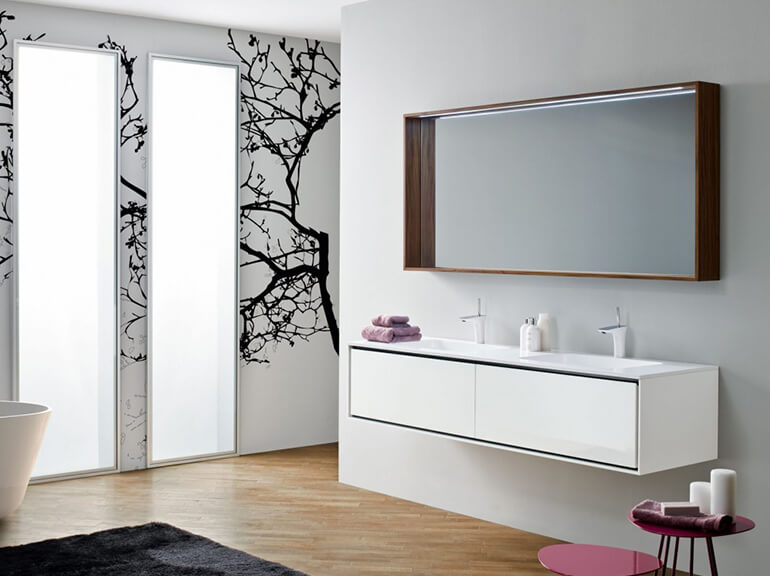ארונות אמבטיה מעוצבים דגם הוגו