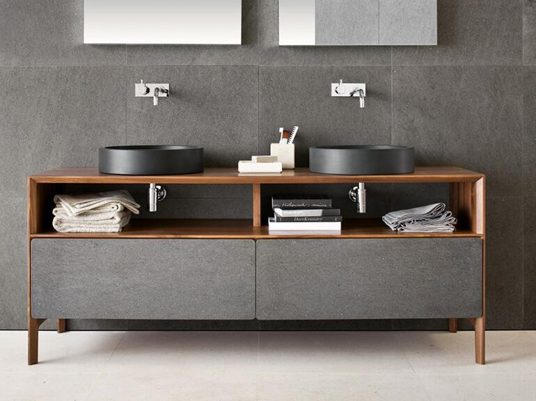 ארונות אמבטיה מעוצבים דגם למינטו