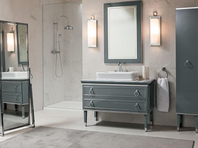 ארונות אמבטיה מעוצבים דגם רוקו