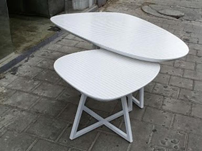 שולחן סלון אמורפי