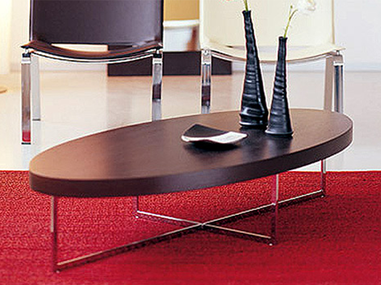 שולחן סלון דגם אובלי