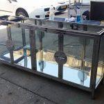 ויטרינה ברזל זכוכית